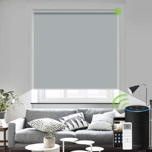 The Best Blinds Option: Yoolax Motorized Blinds with Remote Control