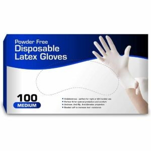 The Best Disposable Gloves Option: Chef's Star Disposable Latex Gloves