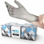 The Best Disposable Gloves Option: Hand-E Disposable Grey Nitrile Gloves