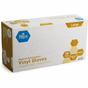 The Best Disposable Gloves Option: Medpride Medical Vinyl Examination Gloves