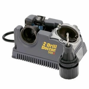 The Best Drill Bit Sharpener Option: Drill Doctor DD500X Drill Bit Sharpener