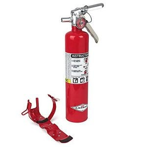 Best Fire Extinguishers Options: Amerex B417T, 2.5 Pound ABC Dry Chemical Class A B C Multi-Purpose 2.5