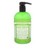 Best Hand Soap Options: Dr. Bronner's Organic Lemongrass Lime Sugar Soap