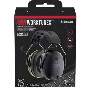 The Best Hearing Protection Option: 3M WorkTunes Connect Hearing Protector with Bluetooth