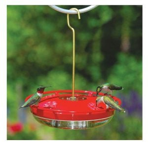 Best Hummingbird Feeder Options: Aspects HummZinger HighView 12 Oz Hanging Hummingbird Feeder