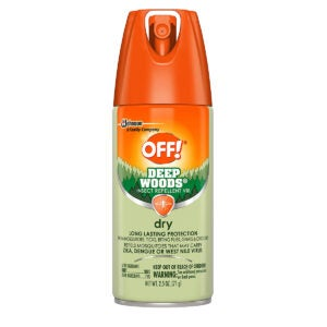 Best Insect Repellent Options: OFF! Deep Woods Dry Aerosol