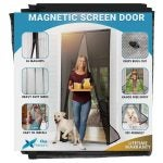 The Best Magnetic Screen Door Option: Flux Phenom Reinforced Magnetic Screen Door