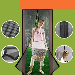 The Best Magnetic Screen Door Option: Homearda Magnetic Screen Door, Fiberglass