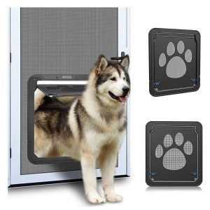 The Best Magnetic Screen Door Option: Ownpets Screen Dog Door