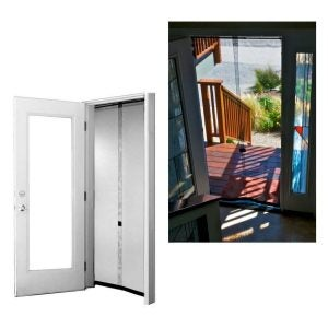 The Best Magnetic Screen Door Option: Wolf & Moon's Bug Off 32 by 96 Instant Screen Door