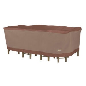 Best Outdoor Furniture Cover Options: Duck Covers Ultimate Water-Resistant 109 Inch Rectangular