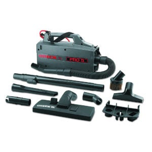 Best Canister Vacuum Options: Oreck Commercial BB900DGR XL Pro 5 Super Compact Canister Vacuum