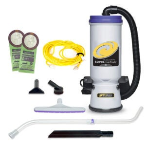 Best Canister Vacuum Options: ProTeam Backpack Vacuums