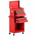 The Best Tool Chests Option: GoPlus 6-Drawer Rolling Tool Chest