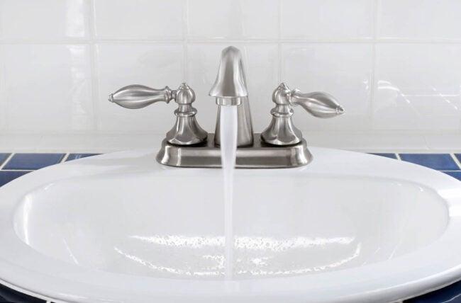 Chrome vs. Brushed Nickel: Brushed Nickel Hides Water Marks