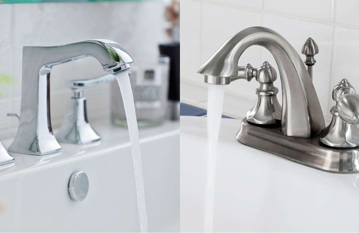 What S The Difference Chrome Vs Brushed Nickel Bob Vila
