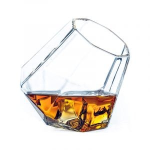 The Best Whiskey Glass Option: Dragon Glassware Diamond Whiskey Glasses