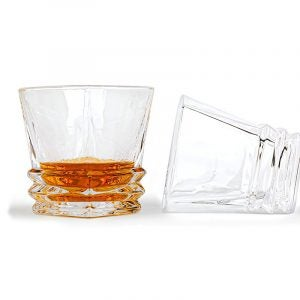 The Best Whiskey Glass Option: Maketh The Man Premium Art Deco Whiskey Glass Set