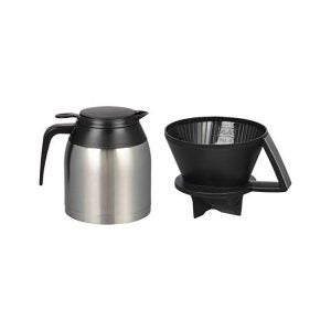 The Best Thermal Carafe Coffee Maker Option: Melitta Pour-Over 10 Cup Coffee Brewer