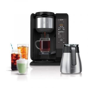 The Best Thermal Carafe Coffee Maker Option: Ninja Hot and Cold Brewed System