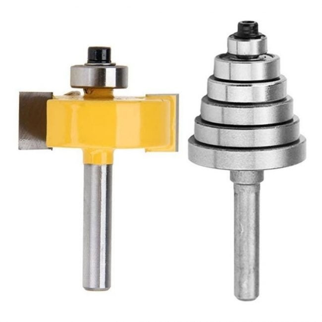 The Router Bit Types Option: Rabbeting