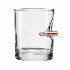The Best Whiskey Glass Option: Set of 2 The Original BenShot Bullet Rocks Glass