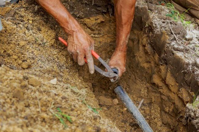 Sprinkler Repair: Repairing the Pipes