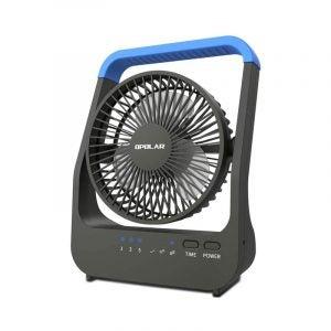 The Best Desk Fan Option: OPOLAR D-Cell Battery Operated Desk Fan
