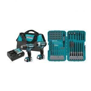The Best Power Tool Set Option: Makita CT226 12V Max CXT Cordless Combo Set