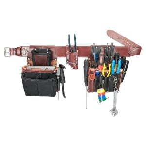 The Best Tool Belt Electrician Option: Occidental Leather 5590 XXXL Commercial Set