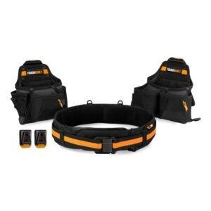 The Best Tool Belt Electrician Option: ToughBuilt - Tradesman Tool Belt Set - 3 Piece