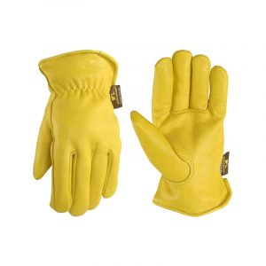 The Best Winter Work Gloves Option: Wells Lamont Men's Deerskin Winter Work Gloves