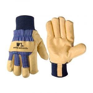 The Best Winter Work Gloves Option: Wells Lamont Men's Heavy Duty Winter Work Gloves