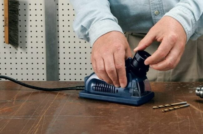 The Best Drill Bit Sharpener Option
