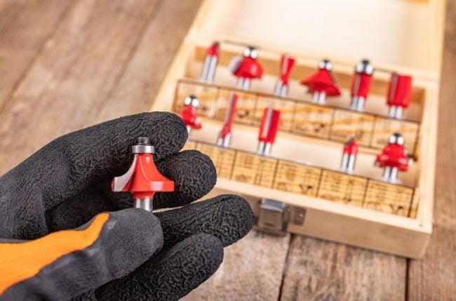 The Router Bit Types Option