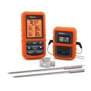The Best Meat Thermometer Option: ThermoPro TP20 Wireless Remote Meat Thermometer
