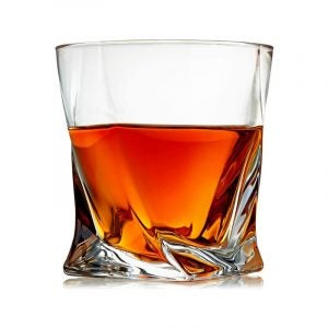 The Best Whiskey Glass Option: Venero Crystal Whiskey Glasses Set of 4