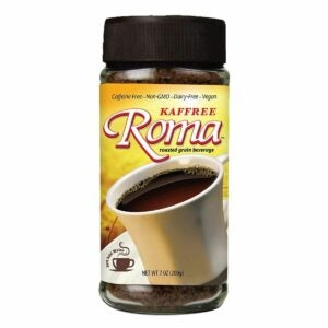The Best Coffee Substitute Option: Kaffree Roma Roasted Grain Beverage