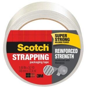 Best Packing Tapes Options: Scotch Brand Strapping Tape