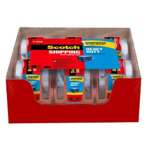 Best Packing Tapes Options: Scotch Tape Heavy Duty Shipping Packaging Tape