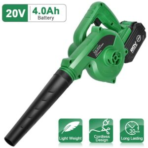 Best Battery Powered Leaf Blower KIMO