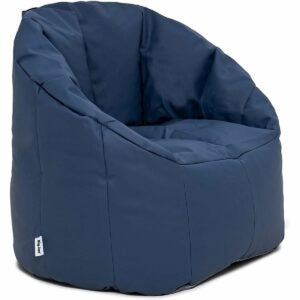 The Best Bean Bag Chairs Option: Big Joe Milano Bean Bag, Marine Vinyl