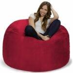 The Best Bean Bag Chairs Option: Chill Bag Memory Foam Bean Bag Chair, 4-Feet