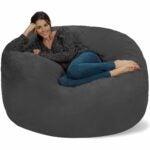 The Best Bean Bag Chairs Option: Chill Sack Bean Bag Chair: 5' Memory Foam Bean Bag