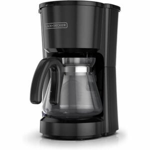 The Best Coffee Maker Option: BLACK+DECKER 5-Cup Coffeemaker