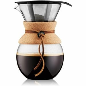 The Best Coffee Maker Option: Bodum Pour Over Coffee Maker with Permanent Filter