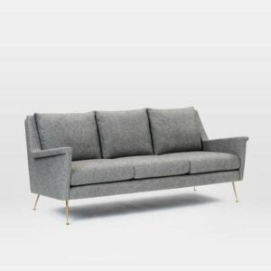 The Best Couches Option: Carlo Mid-Century Sofa by West Elm