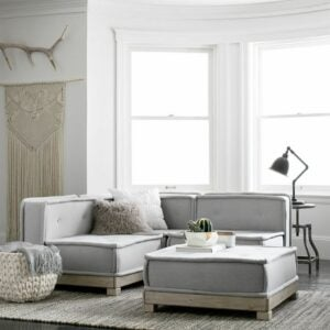 The Best Couches Option: Cushy Lounge Super Sectional Set from PB Teen