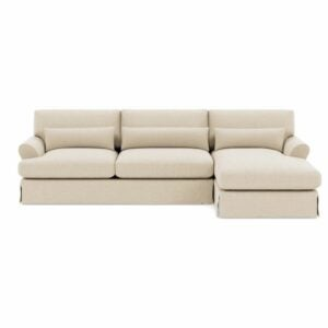 The Best Couches Option: Maxwell Slipcovered Sectional from Interior Define
