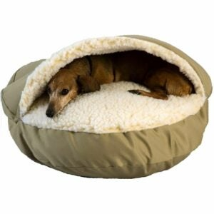 The Best Dog Beds Option: Snoozer Cozy Cave Pet Bed in Poly Cotton